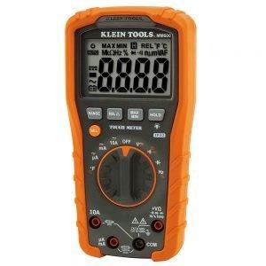 Klein Digital Multimeter, Auto-Ranging, 1000V