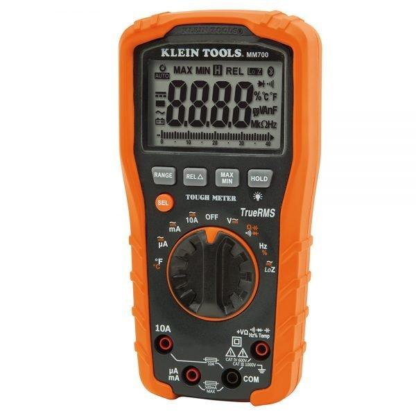 Klein Digital Multimeter TRMS/Low Impedance, 1000V