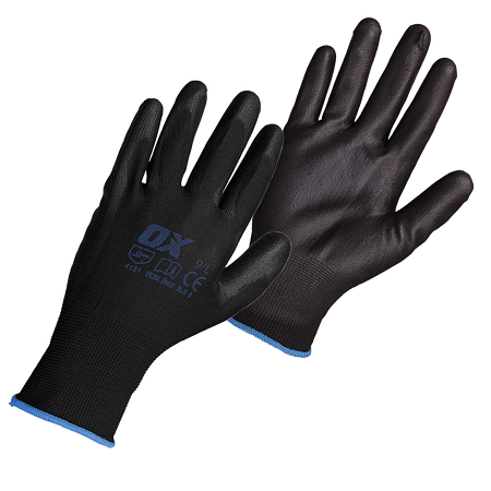 OX PU Flex Glove Size 9-Large