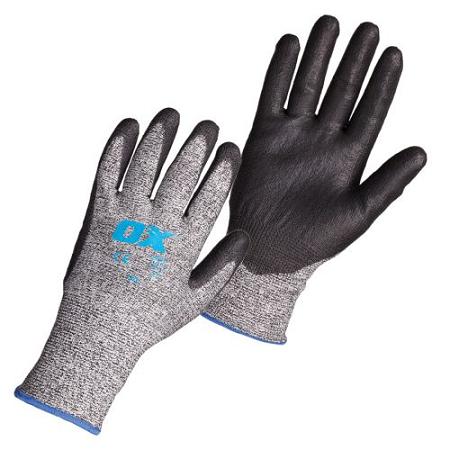 OX PU Flex Cut 5 Glove Size 10 – XLarge