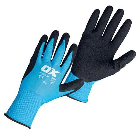 OX Latex Flex Glove Size 9 – Large