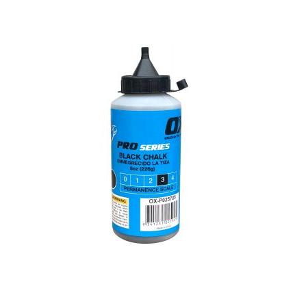 OX Pro Chalk Reel Powder 8oz Black