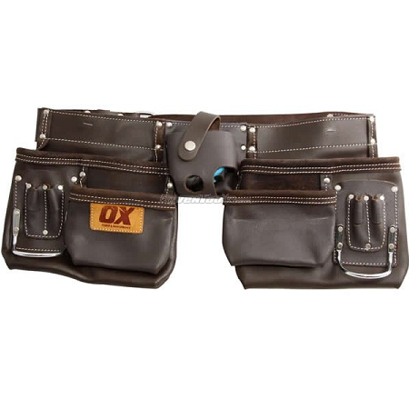 Ox Leather Tool Pouch with Belt