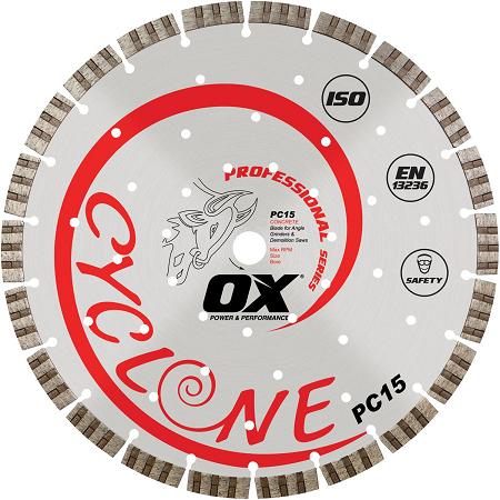 OX Professional Concrete 14″ Diamond Blade