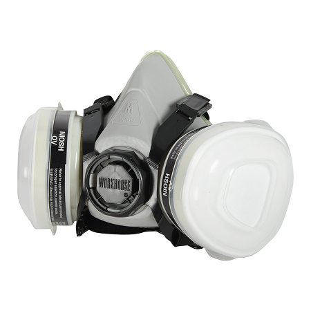 WORKHORSE Half Mask P95 Paint and Pesticide