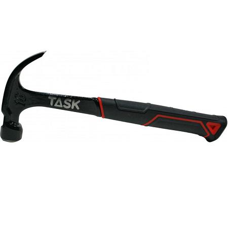 Task 16Oz One-Piece Steel Claw Hammer