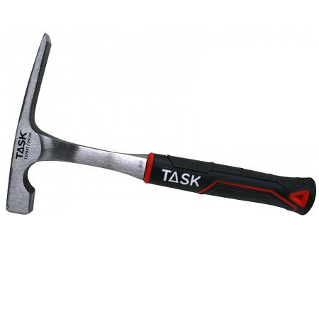 Task 20 oz. One-Piece Steel Bricklayer's Hammer