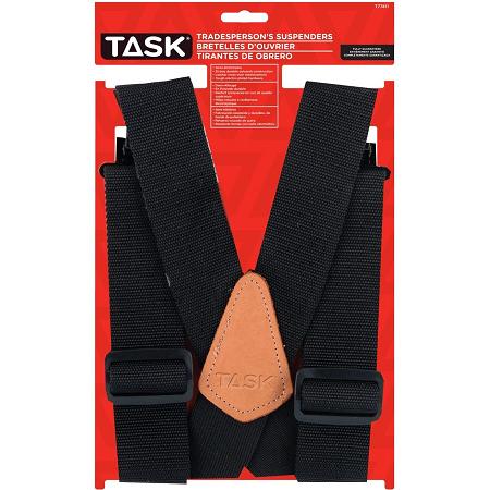 Task Black Tradesperson's Suspender