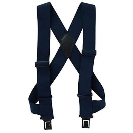 Task Black Full Elastic Suspender